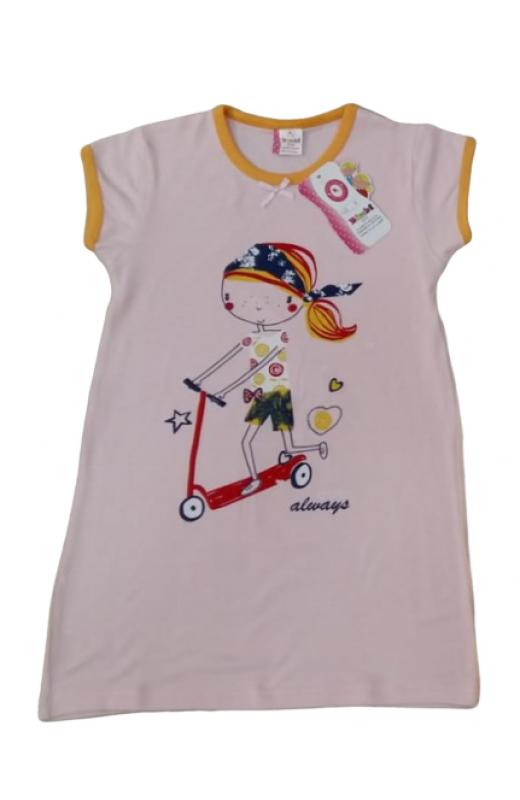 Ночная рубашка для девочки 120