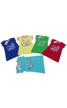 Ночная рубашка для девочки 123