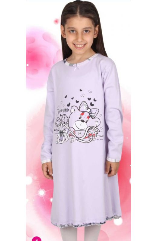 Ночная рубашка для девочки279