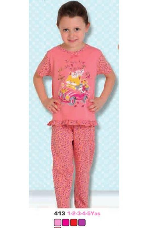 Пижама для девочки 413-00