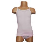 Майка для девочки Sevim(розовая) <br>5795-17