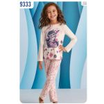 Детские пижамы для девочек Bimbi