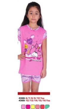 Пижама для девочки <br>4368