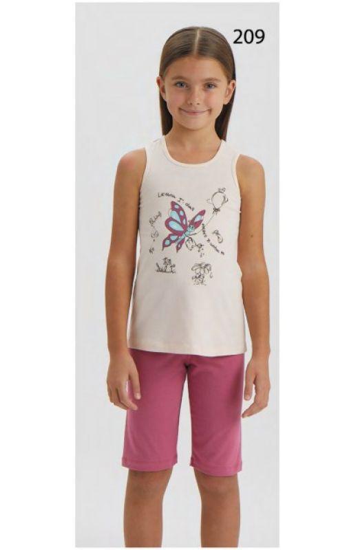 Пижама для девочки 9277-209