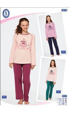 Пижама для девочки 9101-248