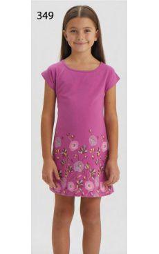Ночная рубашка для девочки 9291-349