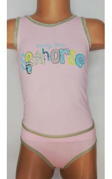 Комплект для девочки <br>5765-17(розовый)