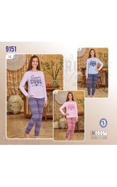 Пижама для девочки 9151-116