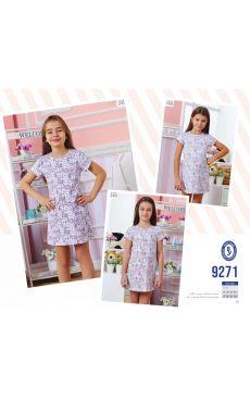 Ночная рубашка для девочки 9271-148