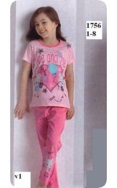 Пижама для девочки<br>1756