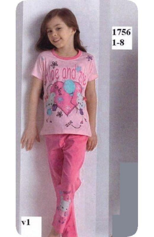 Пижама для девочки 1756