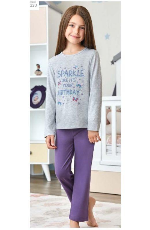Пижама для девочки 9258-220
