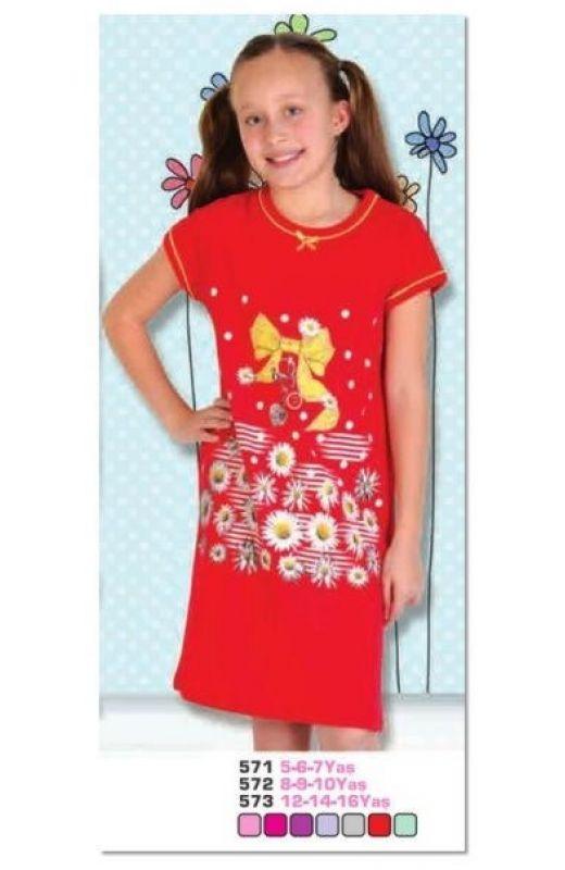 Ночная рубашка для девочки 571