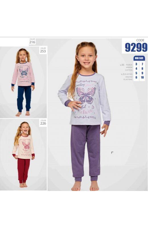 Пижама для девочки 9299-216
