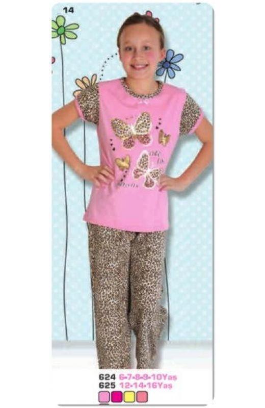 Пижама для девочки 624