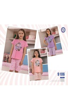 Пижама для девочки 9106-202