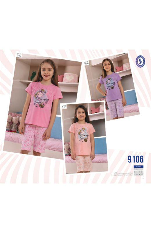Пижама для девочки 9106