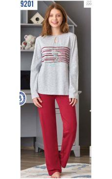 Пижама для девочки<br> 9201-220