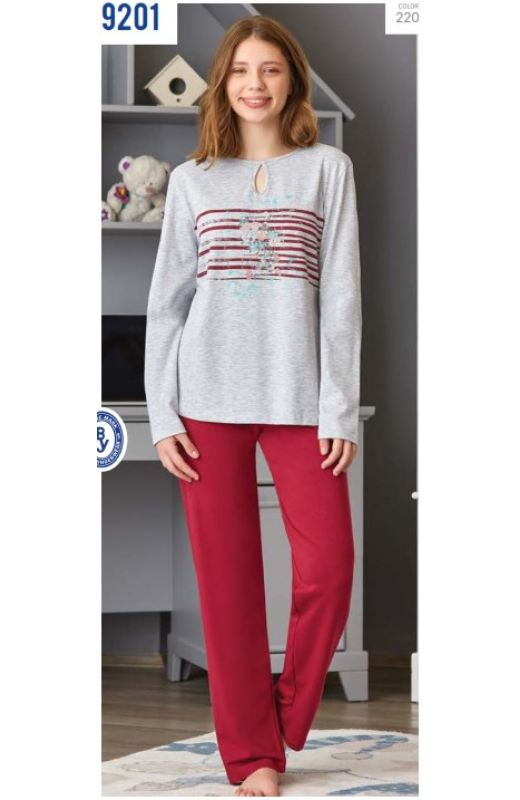 Пижама для девочки 9201-220