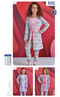 Пижама для девочки<br>9392-299
