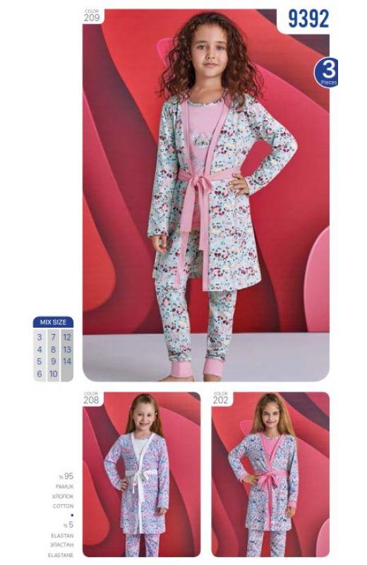 Пижама для девочки9392-299