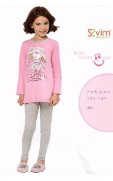 Пижама для девочки<br>5811