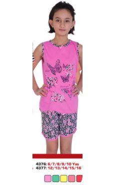 Пижама для девочки <br>4376