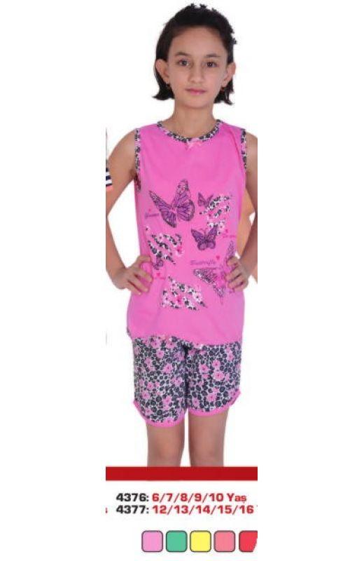 Пижама для девочки 4376